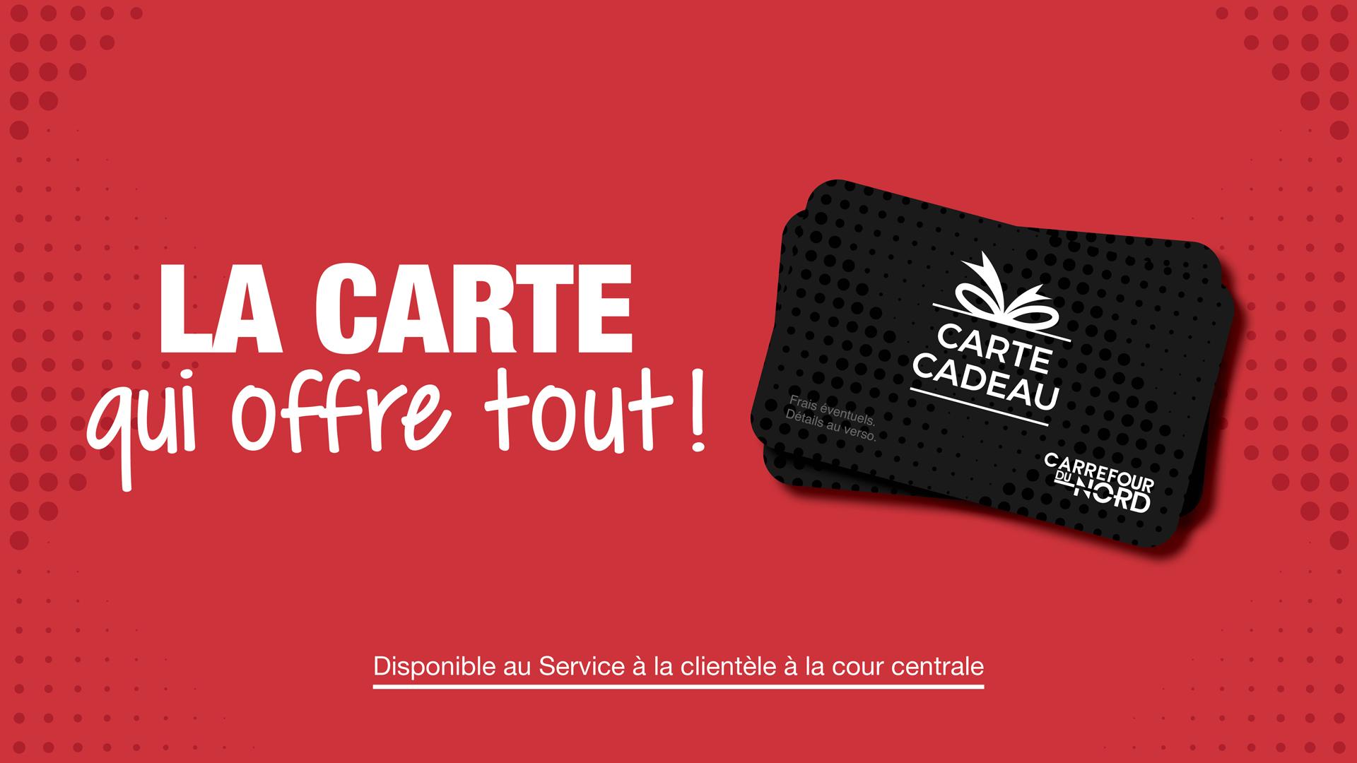 Carte Carrefour Foot 2018.Carrefour Du Nord Votre Centre Commercial A Saint Jerome